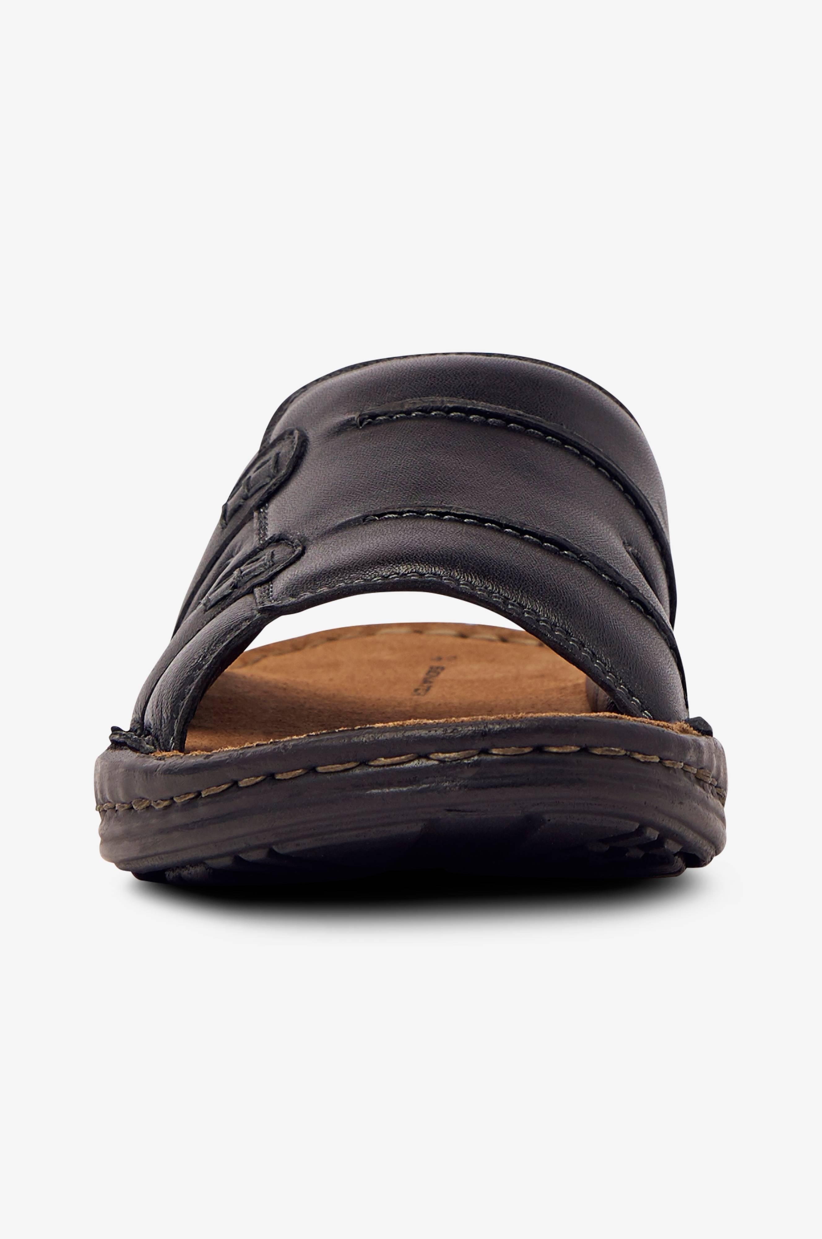 Senator Slip in sandaalit Musta Sandaalit Ellos.fi