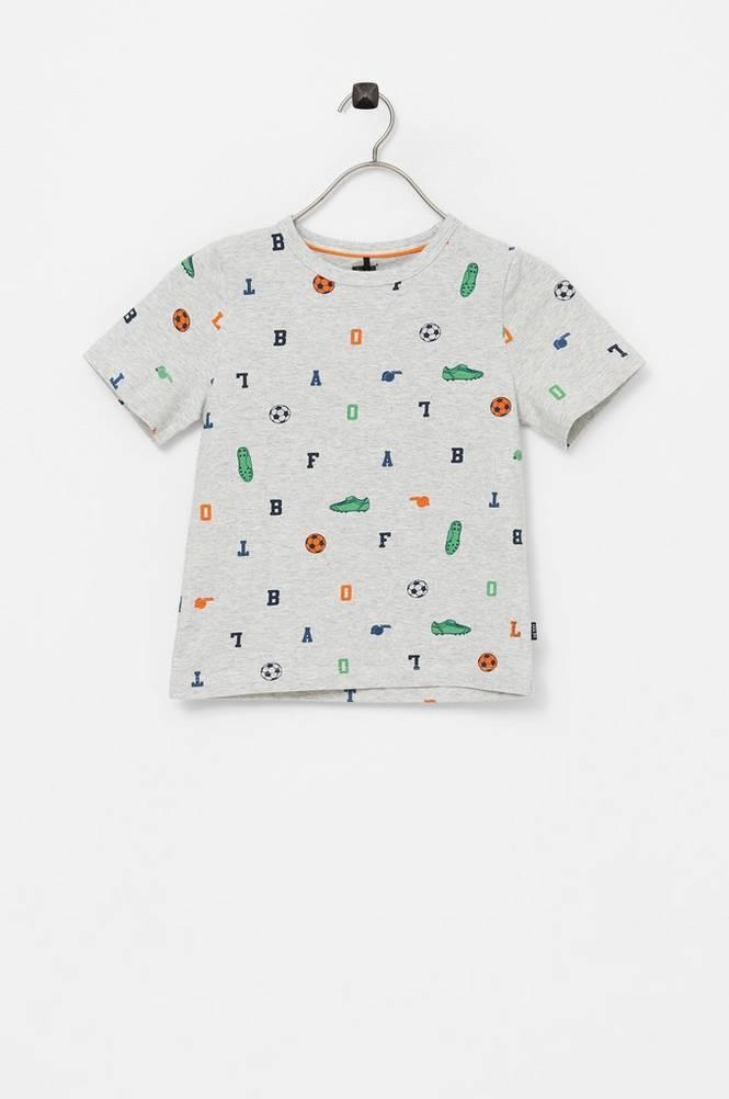 Me Too T-shirt med printet mønster
