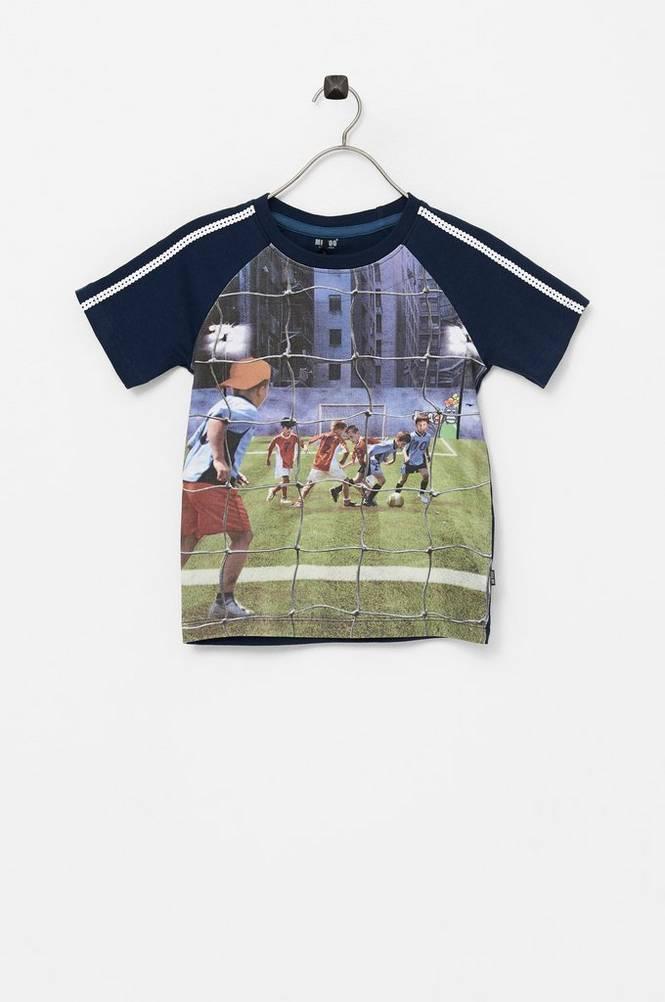 Me Too T-shirt SS fotoprint fodbold