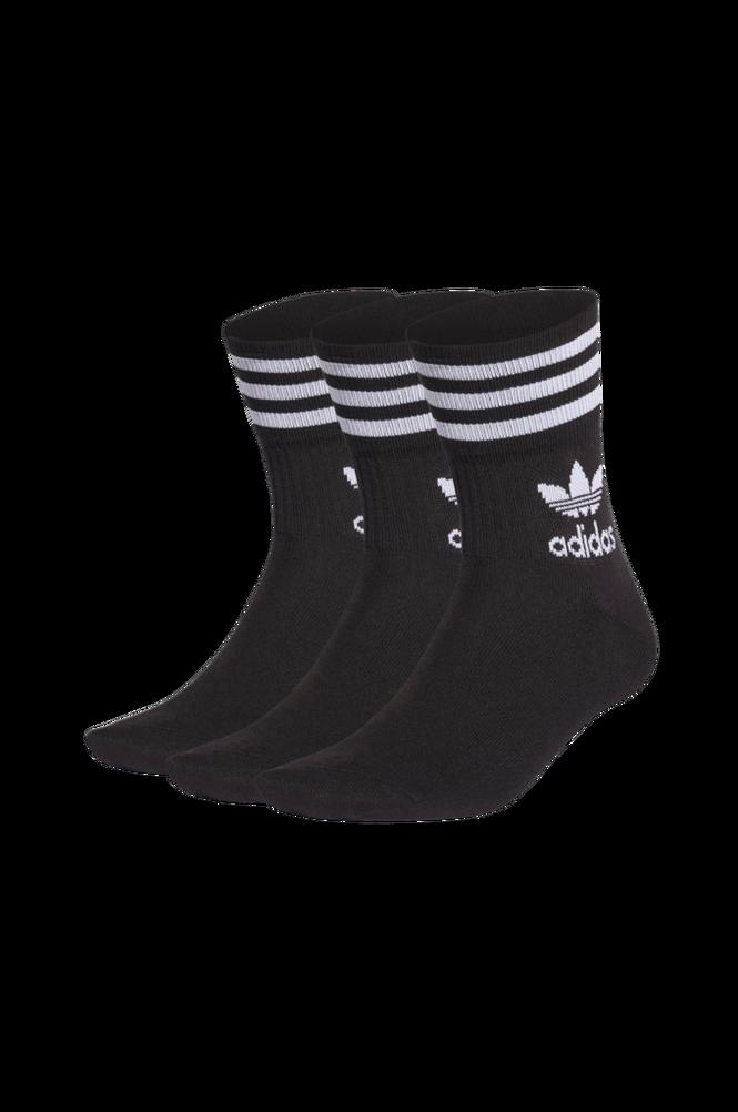 adidas Originals Sportsstrømper Mid-cut Crew Socks 3-pak