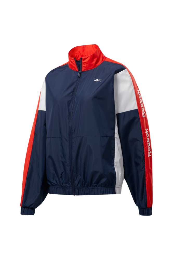Reebok Performance Træningsjakke Training Essentials Woven Linear Logo Jacket