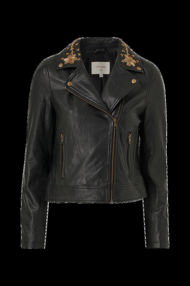 Cream Skindjakke WallisCR Leather jacket