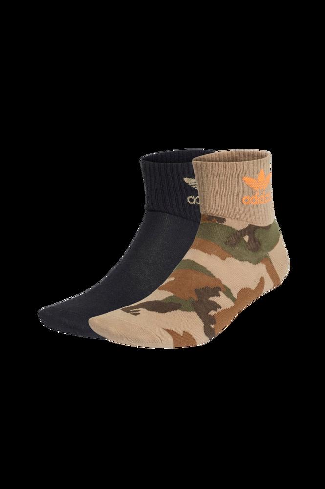 adidas Originals Ankelstrømper Camo Mid-ankle Socks 2-pak