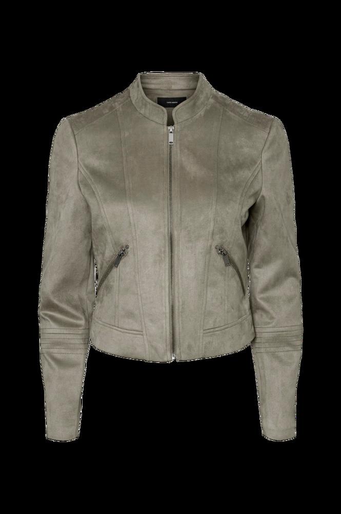 Vero Moda Jakke vmSummersiv Faux Suede Short Jacket