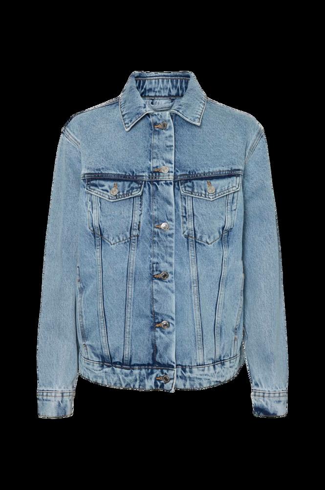 Vero Moda Denimjakke vmKatrina LS Loose Jacket Mix