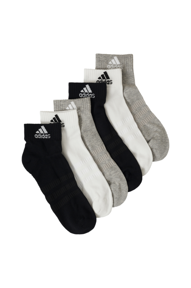 adidas Sport Performance Ankelstrømper Cushioned Ankle Socks 6-pak