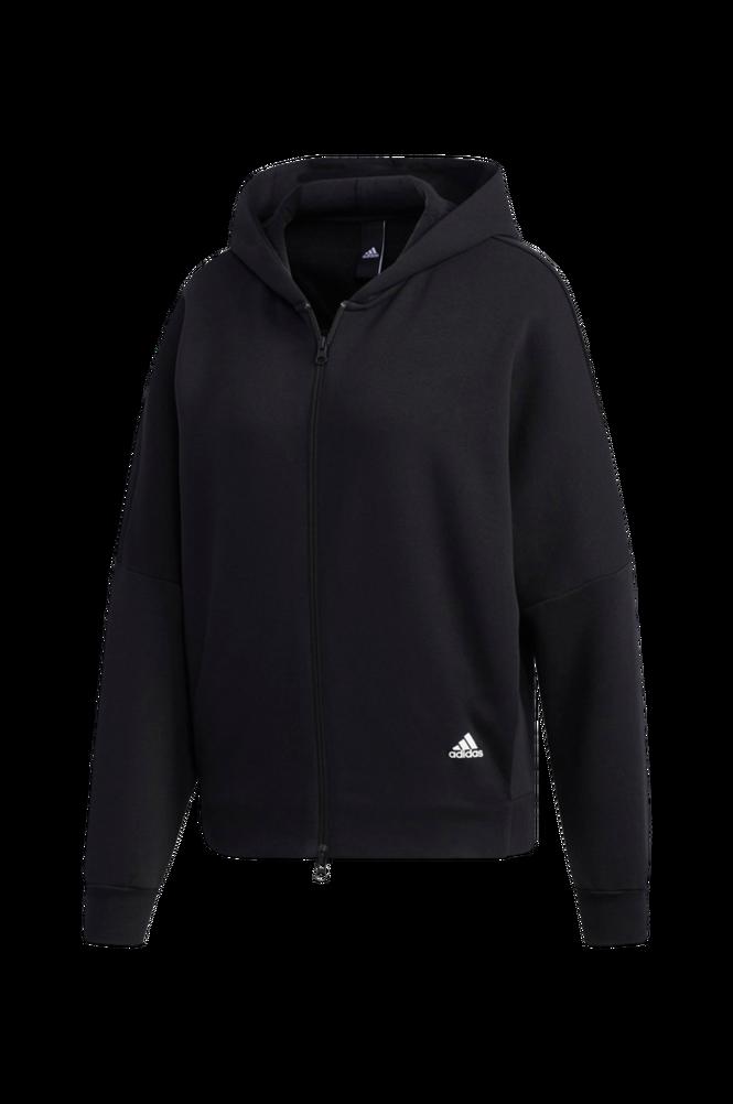adidas Sport Performance Hættetrøje 3-stripes Wording Full-zip Hoodie