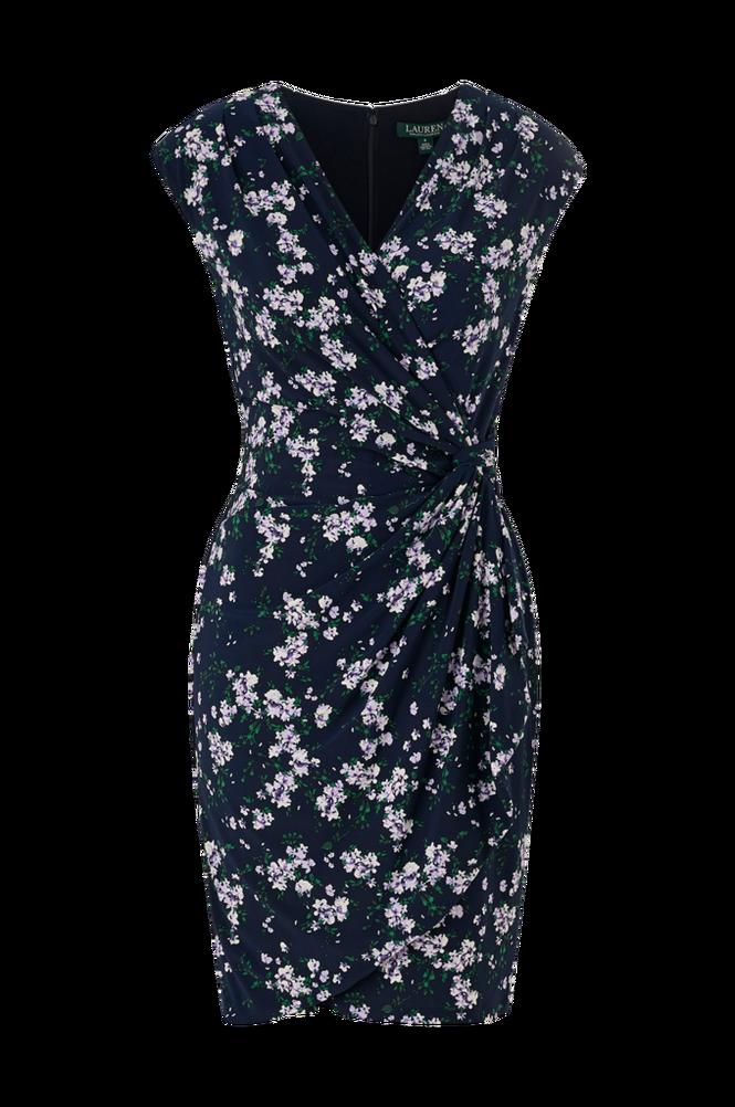 Lauren Ralph Lauren Kjole Rodya Cap Sleeve Day Dress
