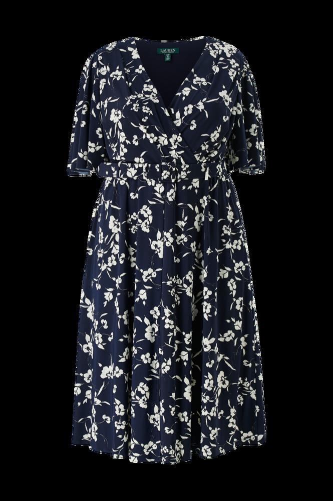Lauren Ralph Lauren Curve Kjole Frasier-Short Sleeve-Day Dress
