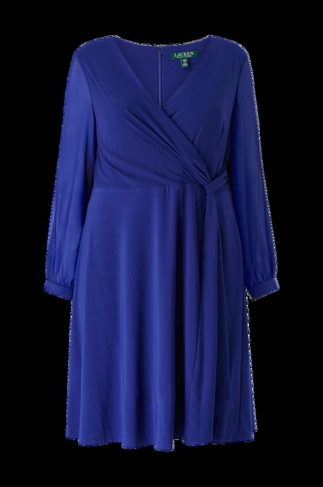 Lauren Ralph Lauren Curve Kjole Cooper Long Sleeve Day Dress
