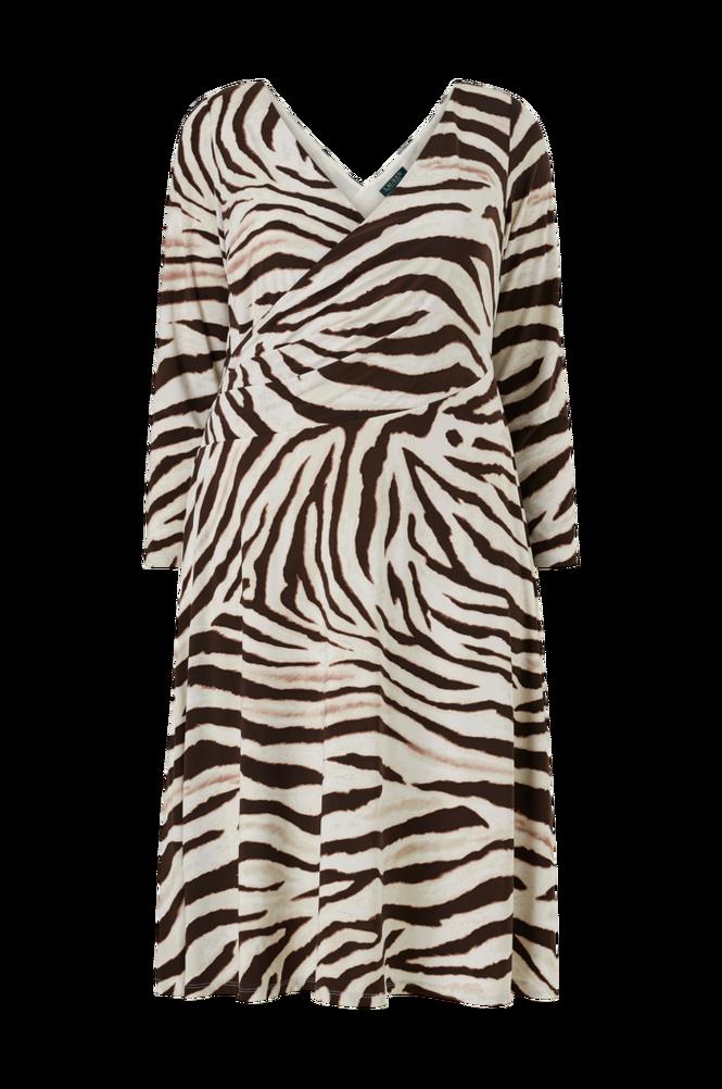 Lauren Ralph Lauren Curve Kjole Polly 3/4 Sleeve Day Dress