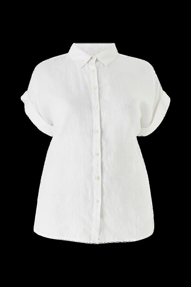 Lauren Ralph Lauren Curve Skjorte Broono Short Sleeve Shirt