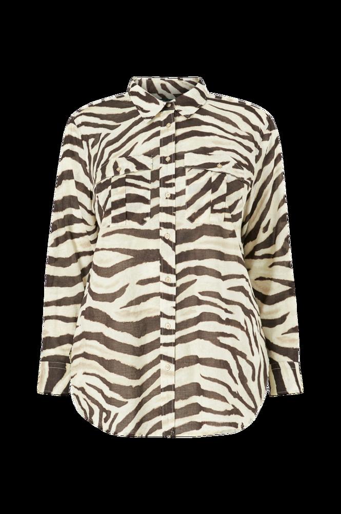 Lauren Ralph Lauren Curve Skjorte Courtenay Long Sleeve Shirt