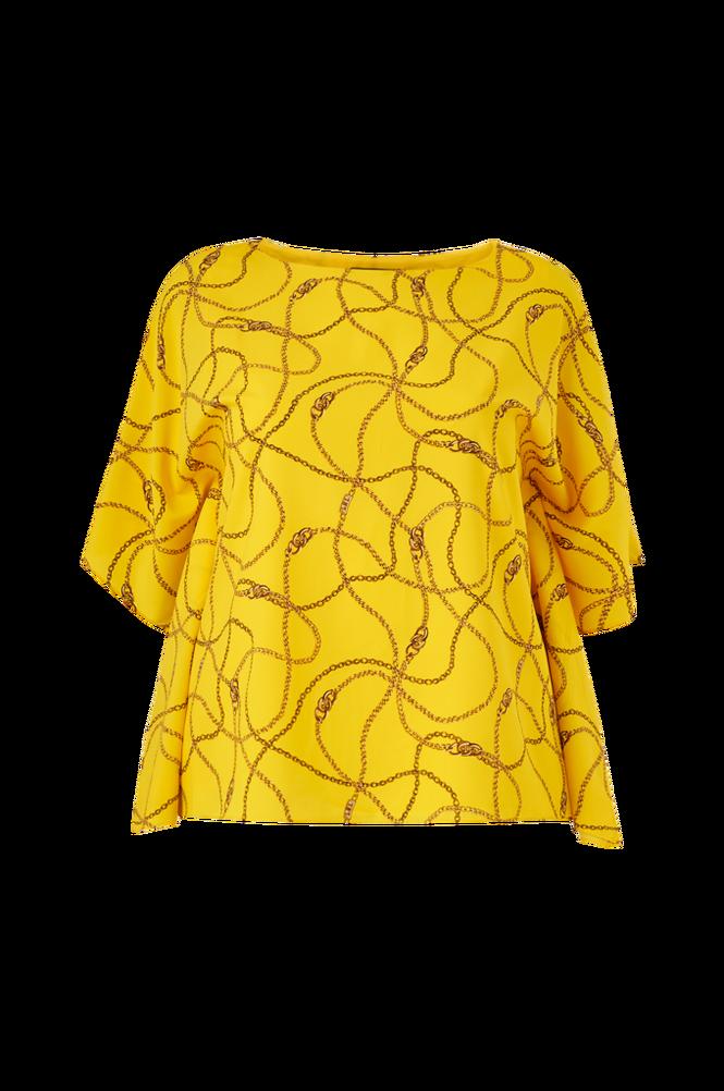 Lauren Ralph Lauren Curve Bluse Anielka Short Sleeve Shirt