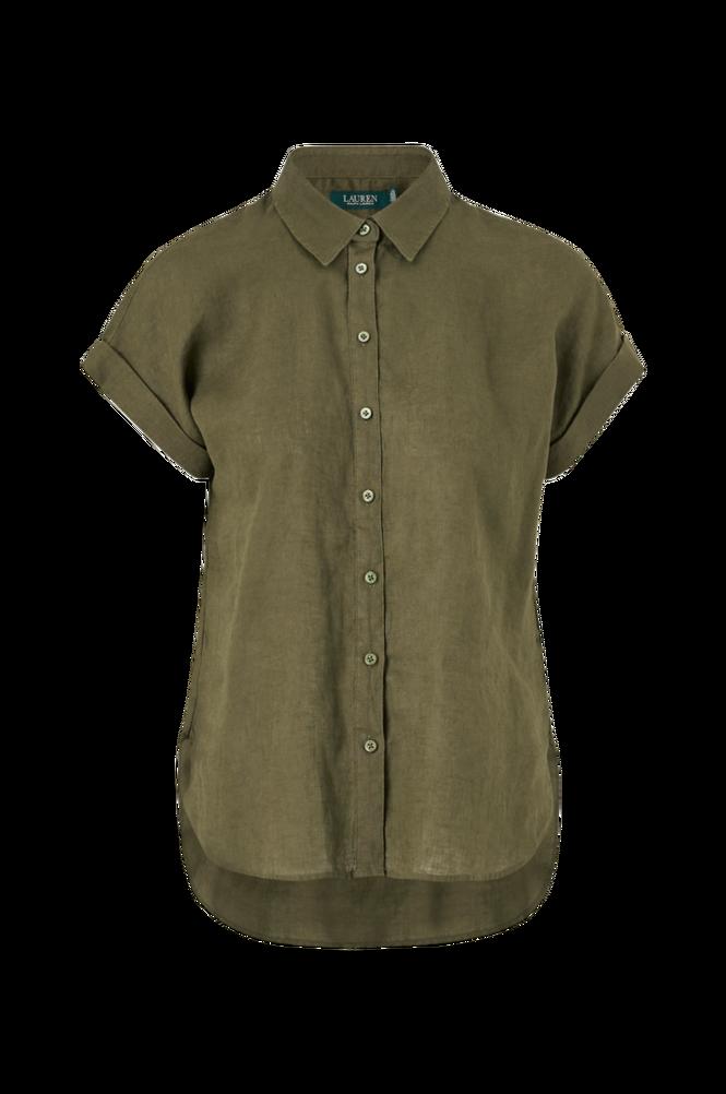 Lauren Ralph Lauren Skjorte Broono Short Sleeve Shirt