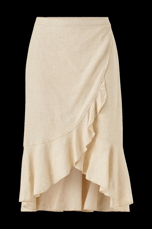 Cream - Kjol EstherCR Skirt - Natur