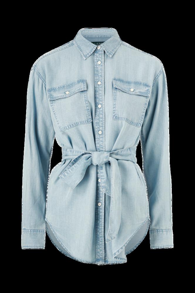 Lauren Ralph Lauren Denimskjorte Chadwick Long Sleeve Shirt