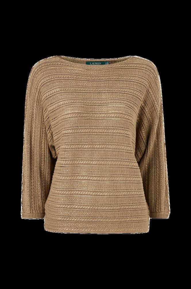 Lauren Ralph Lauren Trøje Alzinda 3/4 Sleeve Sweater