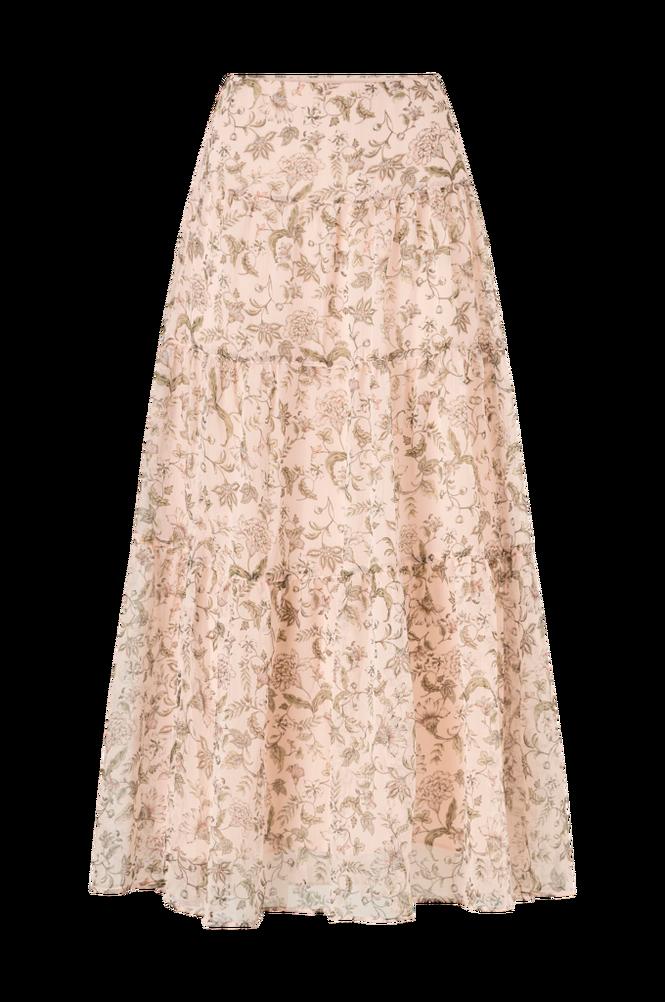 Lauren Ralph Lauren Flæsenederdel Pauldina Peasant Skirt