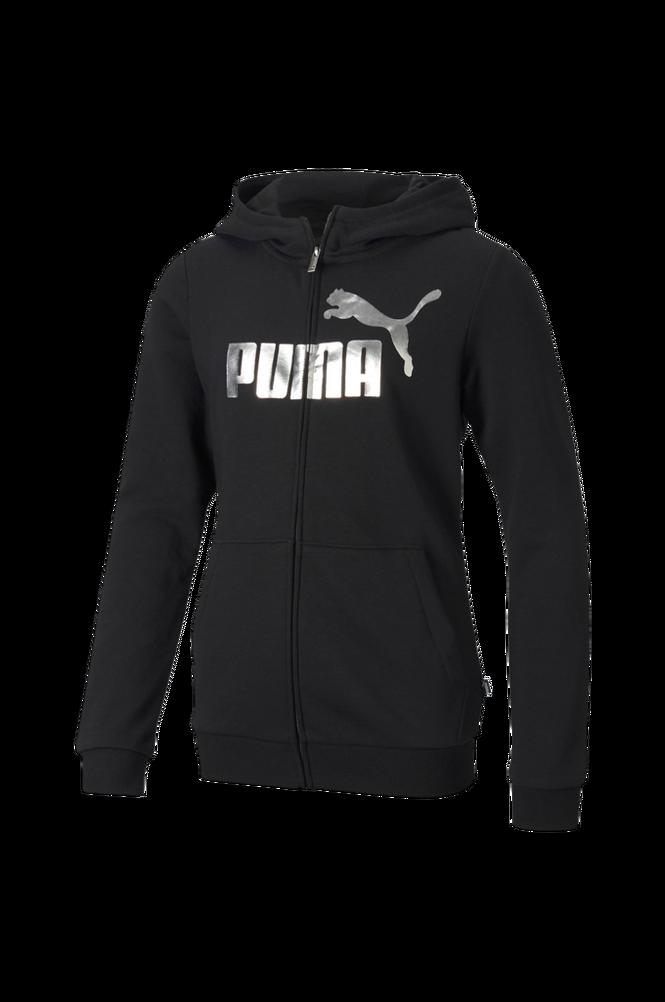 Puma Hættetrøje ESS+ Hooded Sweat Jacket G