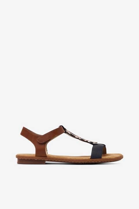 Sandaler med stort smycke