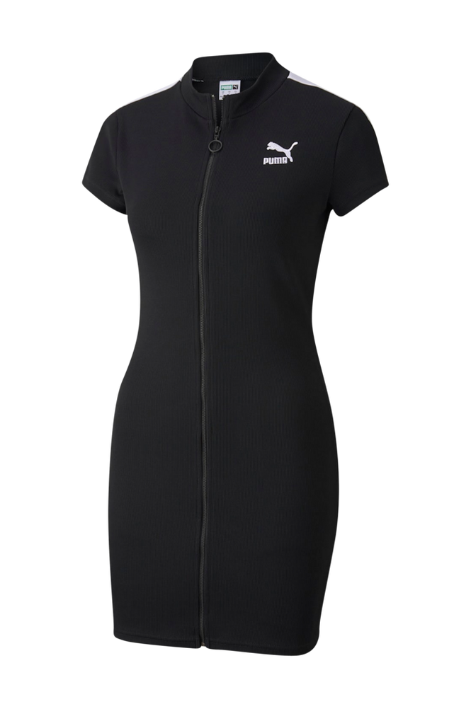 Puma Kjole Classics Ribbed Tight SS Dress
