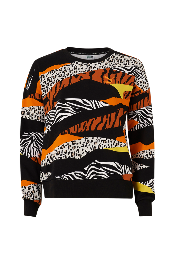 Puma Sweatshirt Classics Graphics AOP Crew Sweat