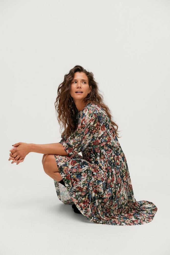 Soaked in Luxury Kjole slPoppie Dress