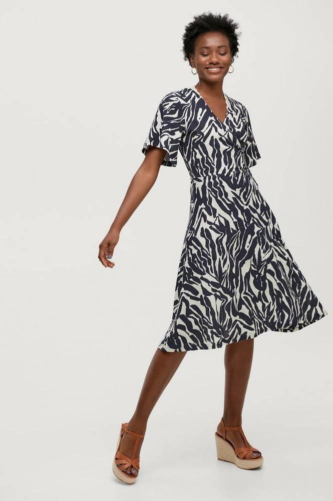 Soaked in Luxury Slå om-kjole slSallie Dress SS