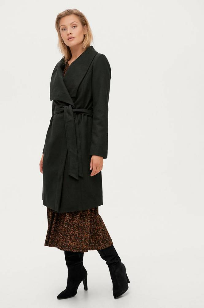 Soaked in Luxury Frakke slCallaha Canasta Coat