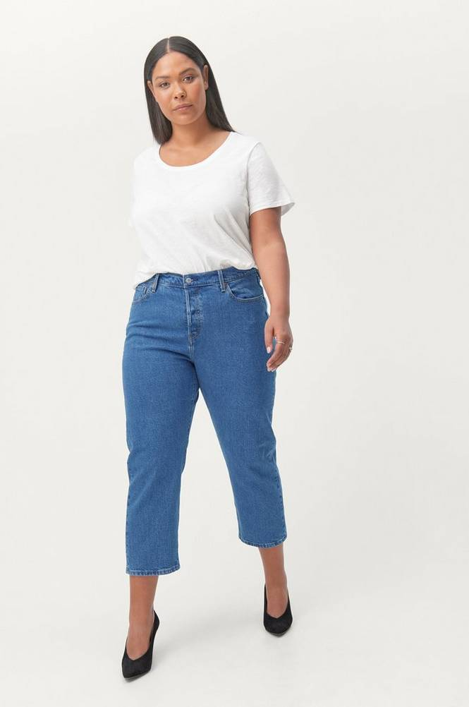 Levi's Plus Jeans 501 Cropped Original