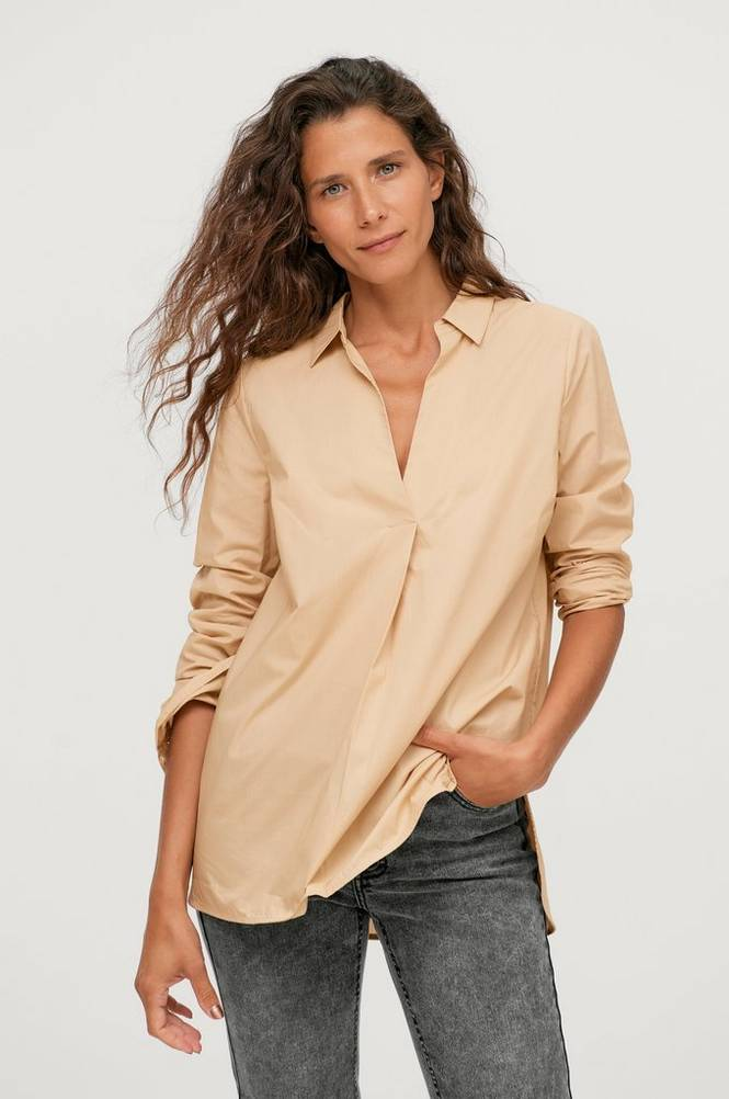 Saint Tropez Skjorte BrendaSZ LS Shirt