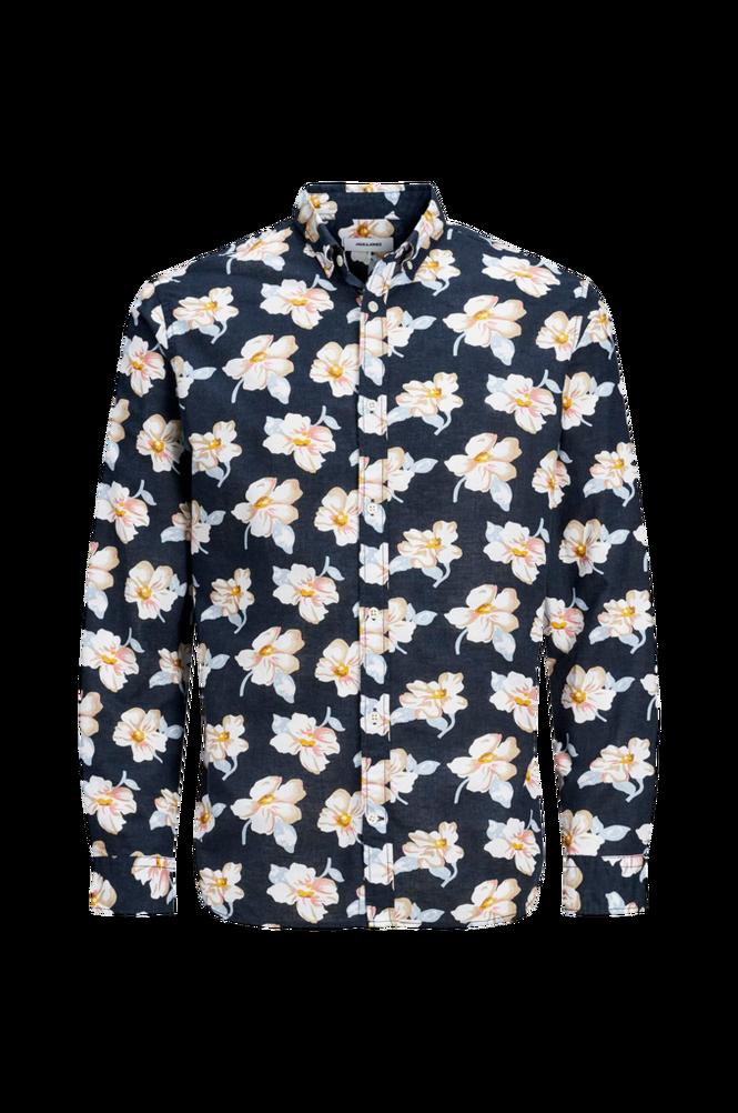 jack & jones Skjorte jprBlasummer Print Shirt L/S, slim fit
