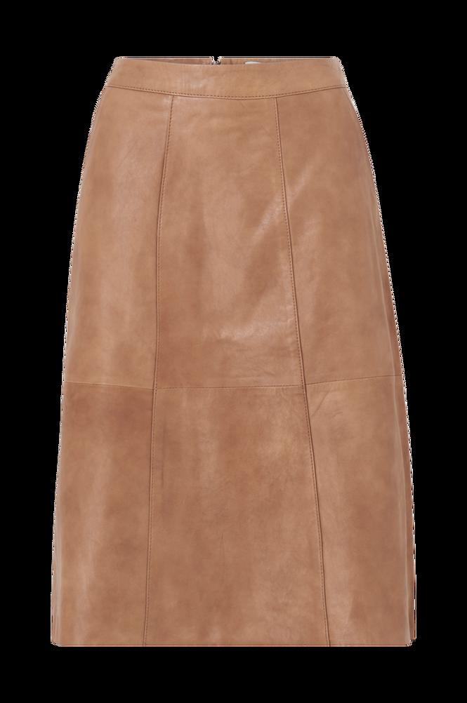 Saint Tropez Skindnederdel BrittSZ Skirt Below Knee
