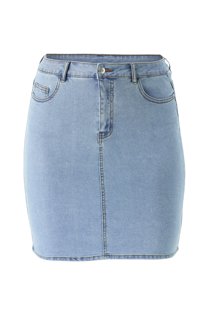 Vero Moda Curve Denimnederdel vmHot Nine HW Pencil Skirt
