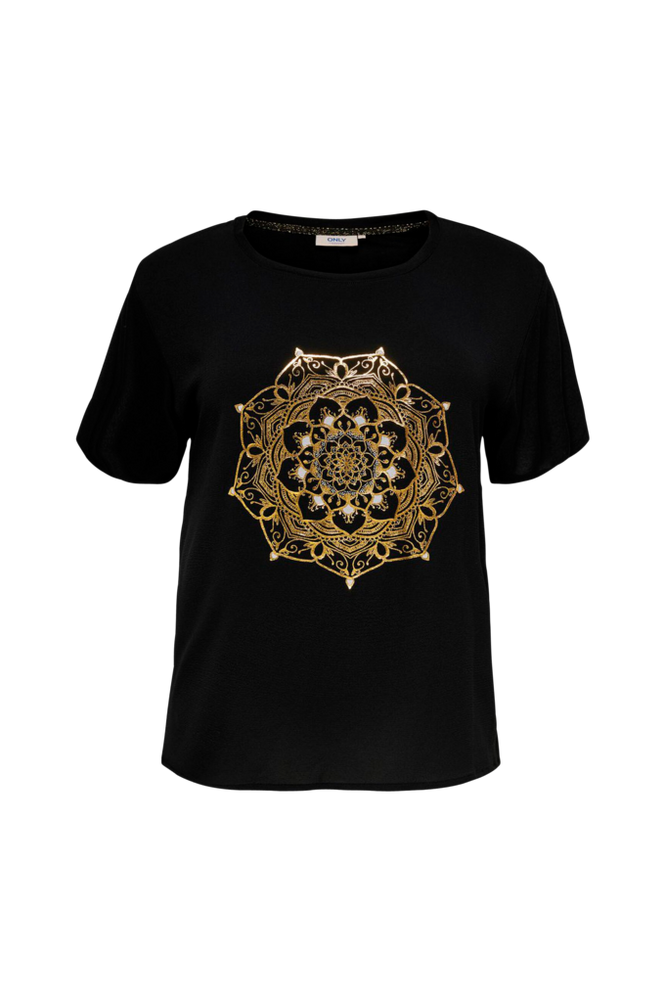 Only Carmakoma Top carArt SS Tee