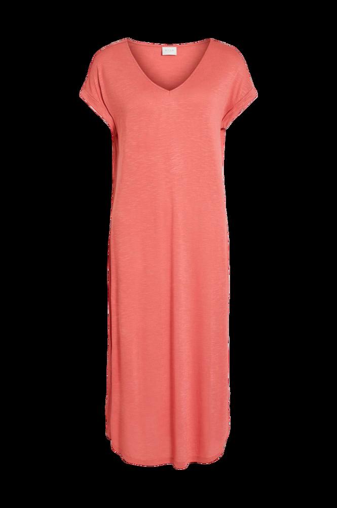 Vila Kjole viNoel S/S V-neck Medi Dress