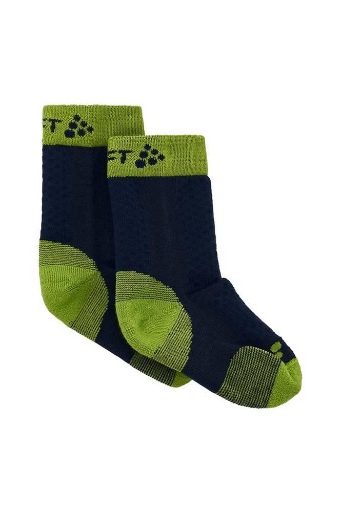 Craft Træningsstrømper Warm Mid 2-pak Sock JR