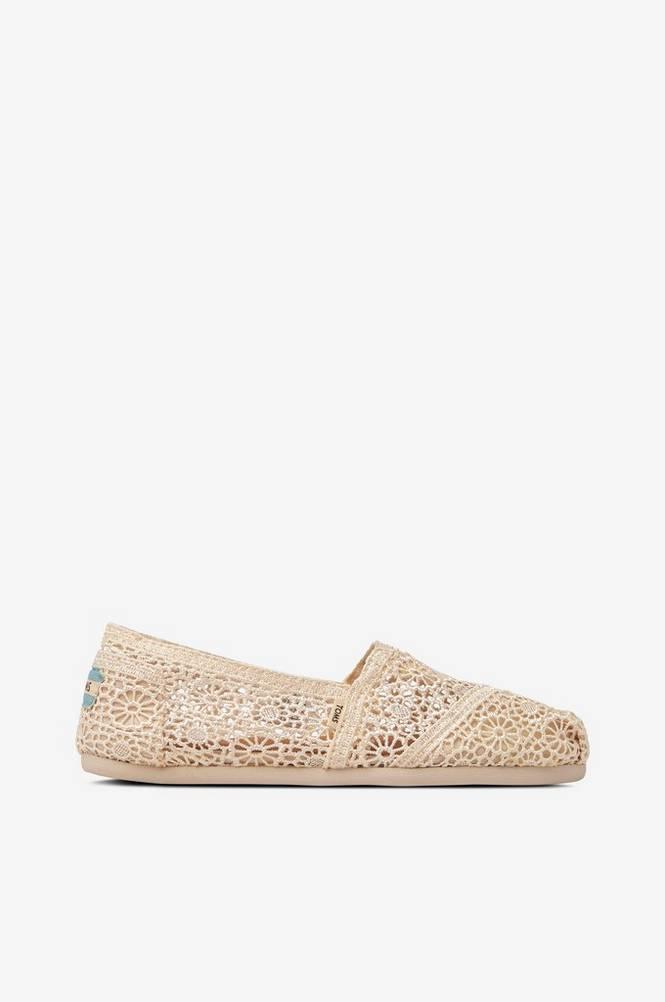 TOMS Sneakers/Espadrillos Classic Natural Moroccan Crochet
