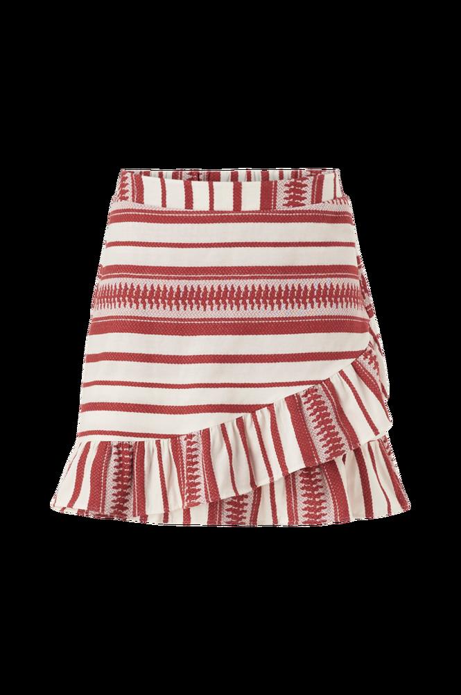 Only Nederdel onlSally Athena Wrap Skirt Wvn