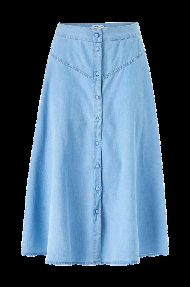 Selected Femme Nederdel slfJoy MW Midi Skirt