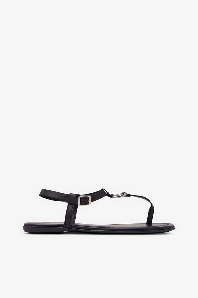 Esprit Sandal af skind