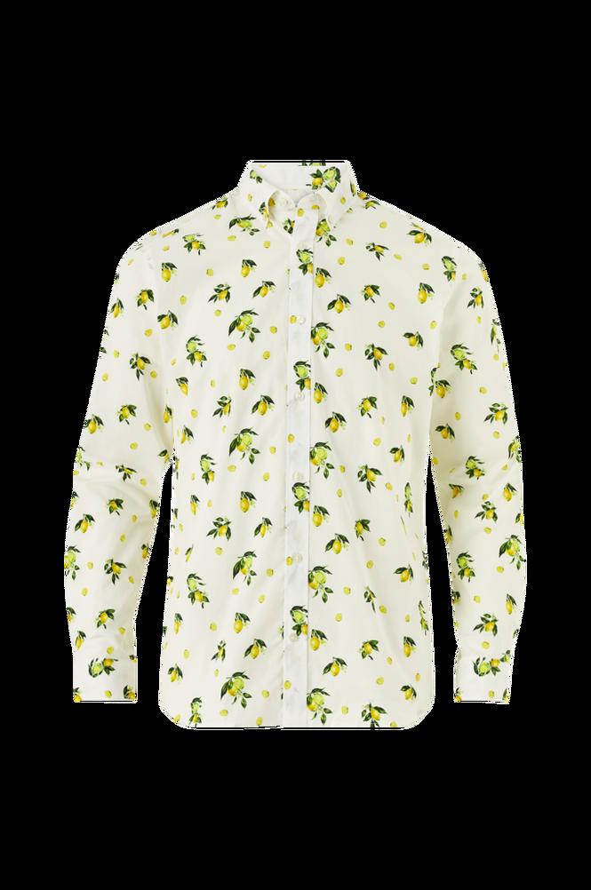 jack & jones Skjorte jprBlamotive Print Shirt L/S Plain, slim fit