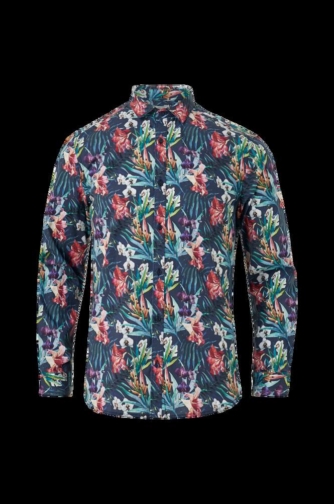 jack & jones Skjorte jprBlalee Print Shirt L/S, slim fit