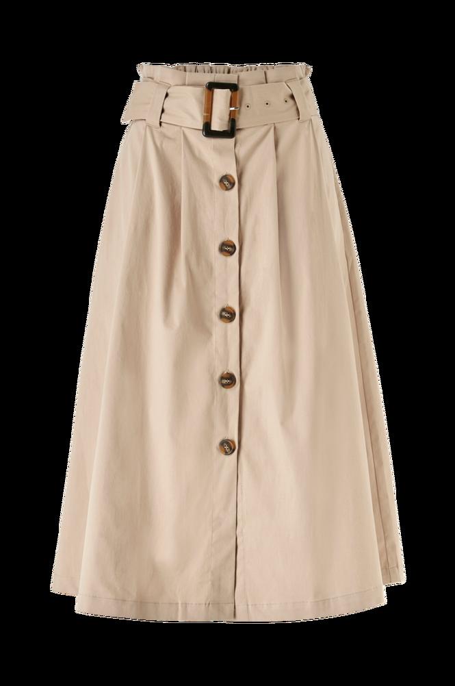 Y.A.S Nederdel yasTalisa HW Midi Skirt