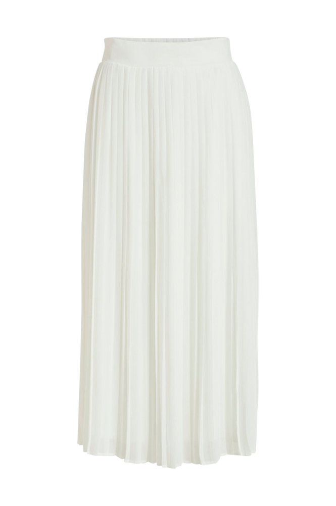 Vila Nederdel viPlissea HW Midi Skirt