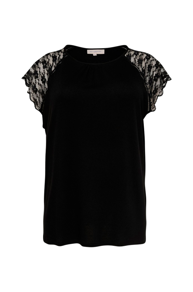 Only Carmakoma Top carAmber SS Lace Top