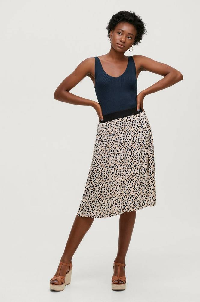 Saint Tropez Nederdel BlancaSZ Skirt On Knee
