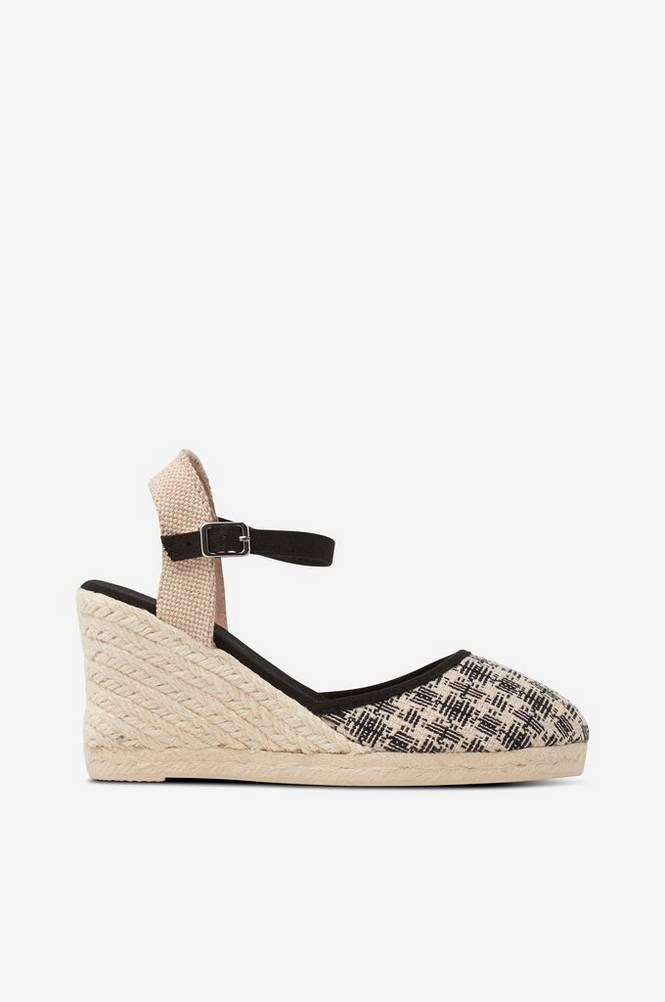 Esprit Sandal med kilehæl
