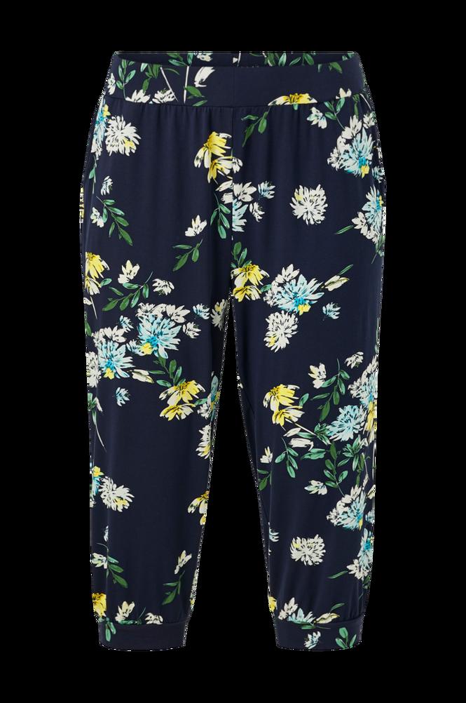 Ciso Bukser i blomstret jersey